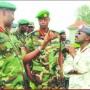 Officiers du FPR : Kayonga, Kabarebe, Muhire