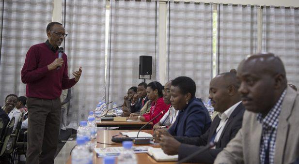 kagame rencontre